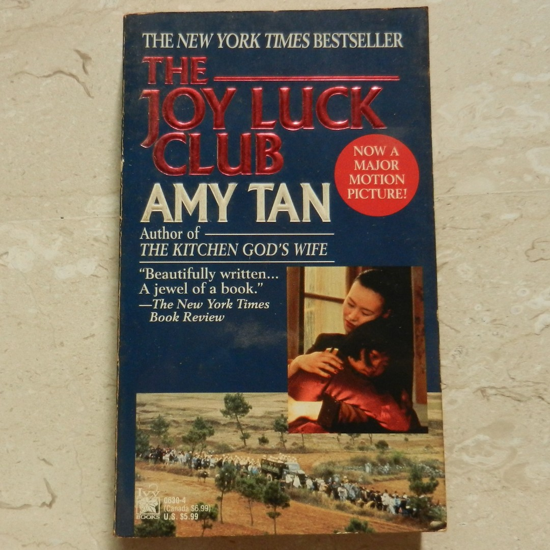 an analysis of amy tans book the joy luck club The joy luck club may refer to: the joy luck club, a 1989 novel written by amy tan the joy luck club, a 1993 film adaptation of the above novel the joy luck club, one of production produced by theatreworks in silicon valley, california.