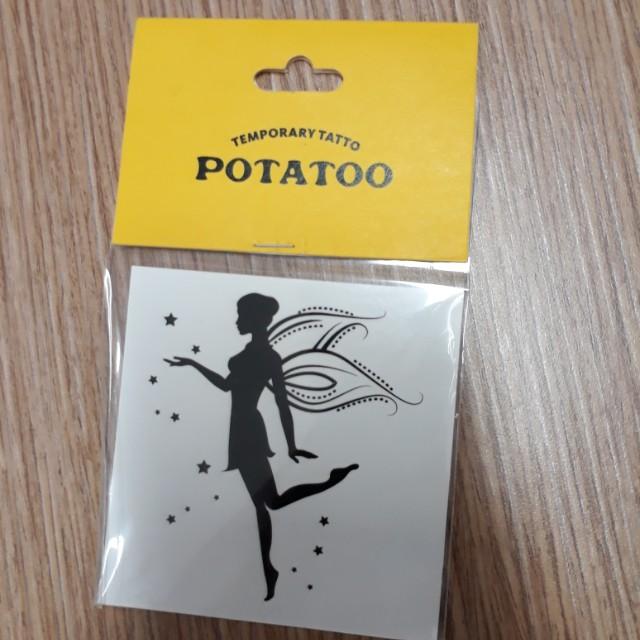Tingkerbell tatoo from Potatoo