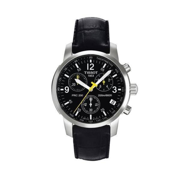 Tissot T17152652 PRC 200 Sports Mens Chronograph Leather Strap