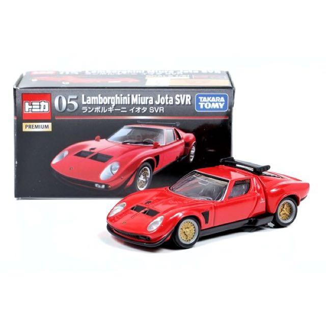 Tomica Premium No 05 Lamborghini Miura Jota Svr Red Toys Games
