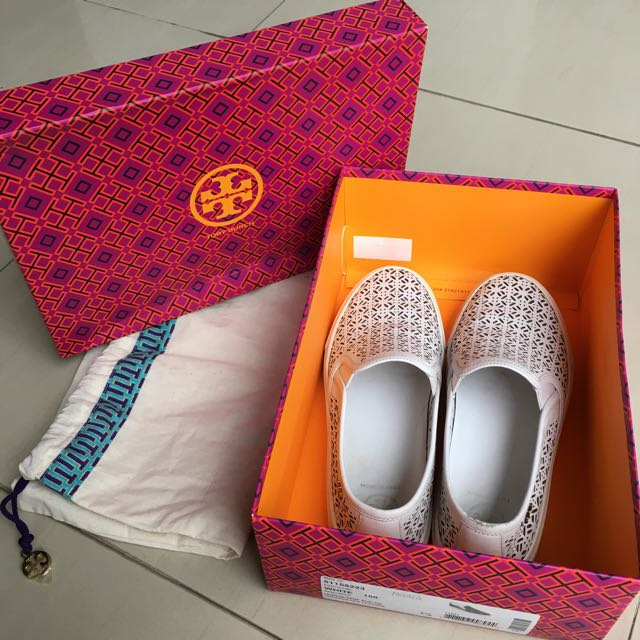 Tory Burch Shoes (White)