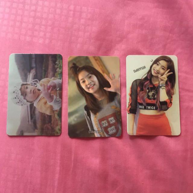 Twice The Story Begins Photocard Dahyun, Entertainment, K