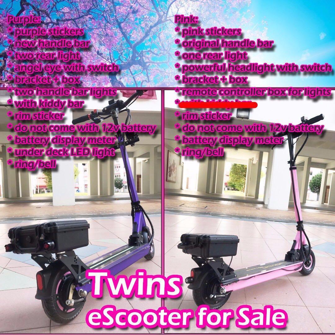 TWINS Joyor R1 (24V 250w) #not dualtron speedway ultra