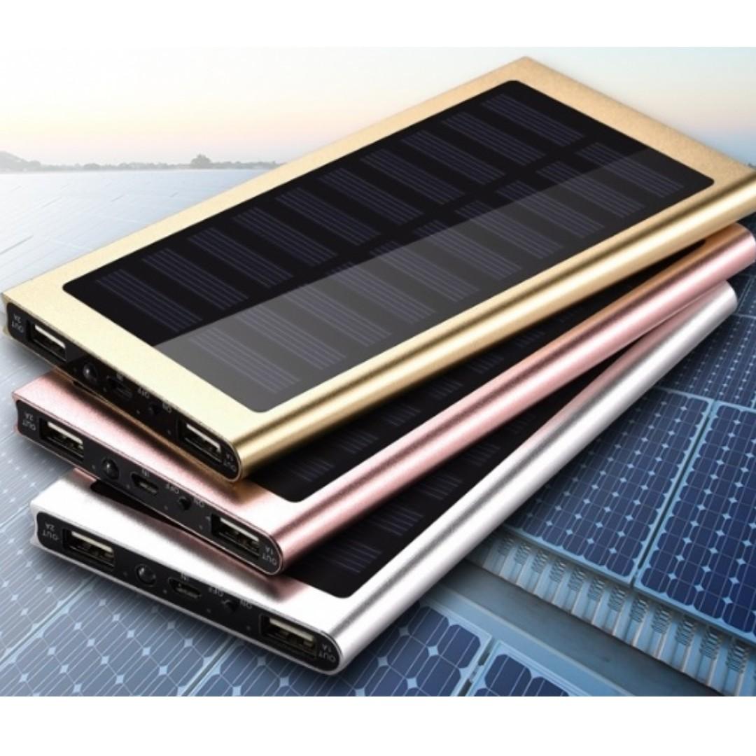 Ultra Thin 50000mAh Solar PowerBank Power Bank