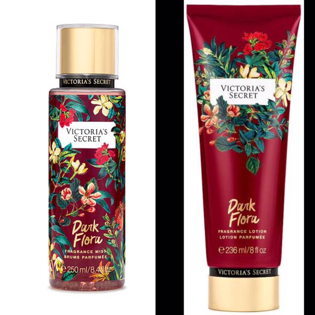 81c3cb2c090 Victoria s Secret Dark Flora body lotion and mist