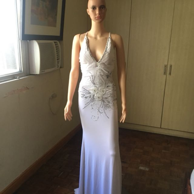 White gown for sale