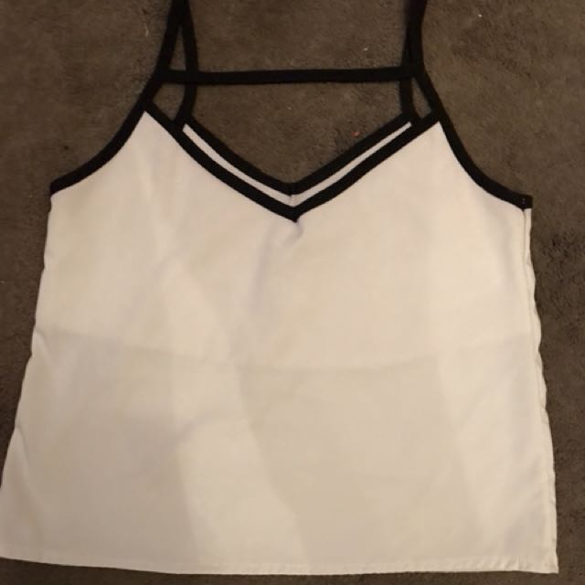 White top cami
