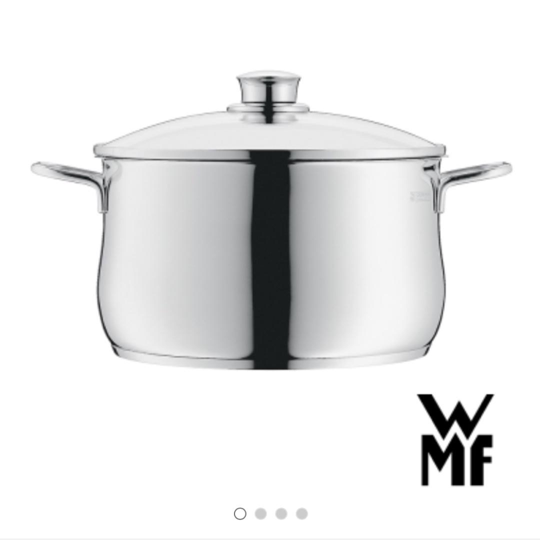 德國WMF DIADEM PLUS系列24cm高身湯鍋6L 全新未使用