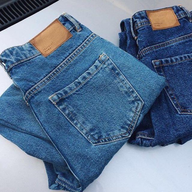 Zara hw mom jeans pants