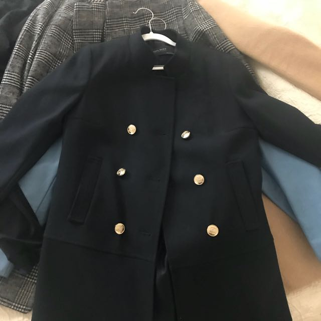 ZAra military coat in XS