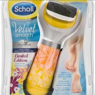 BNIP Scholl Velvet smooth express pedi summer rosie foot file