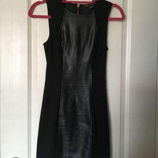Armani Exchange Black Dress Size XS