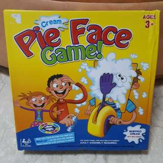Pie Face Game(3+ years)
