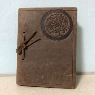 Vintage Faux Leather Notebook