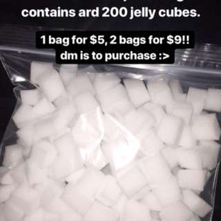 jelly cubes for jelly cube slime!