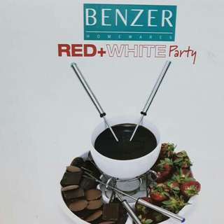 (NEW) Fondue set for 4 (Benzer)