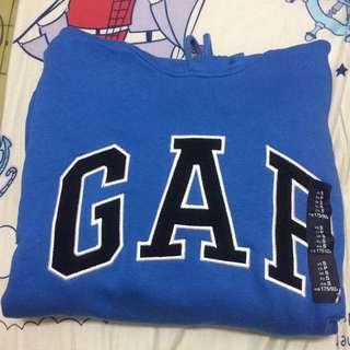 🚚 Gap 男版 s號 帽t 全新!百搭藍