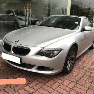 bmw 630i  lci model paddle shift  3.0cc  2008