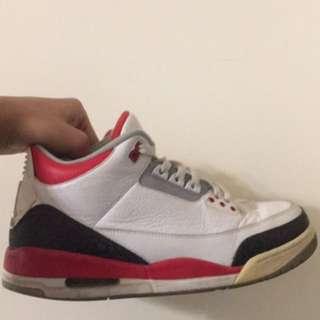 Jordan 3代 喬丹 us11