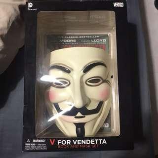 V for Vendetta Mask Set