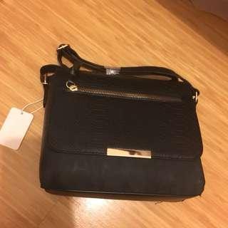 Primary black crossbody bag