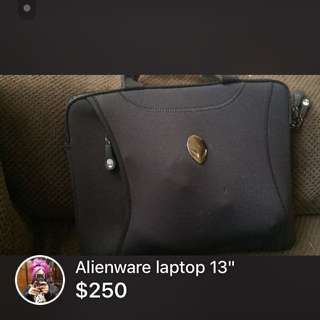 Alienware laptop 13""