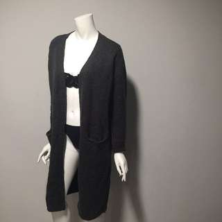 M Boutique (BNWT) - Long Wool Cardigan