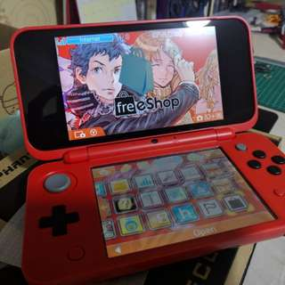 New 2DSXL Pokéball Red Edition