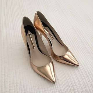 Sophia Webster Rose Gold Pumps