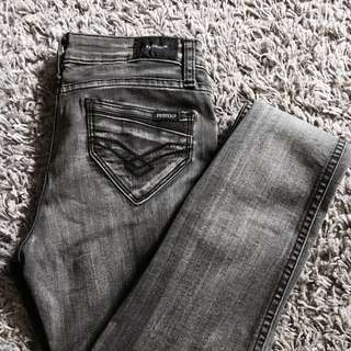 Denim sale! Gray skinny jeans