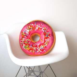 Cute Pink Donut Pillow