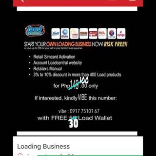 Loadcentral Retailer (loading business)