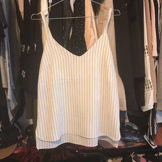 Stripe Cammy Top