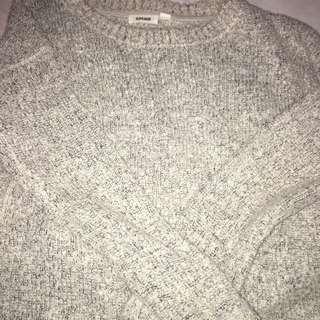 Cute wool oversized sweater