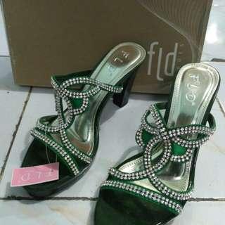 Sendal cantik heels fladeo