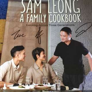 Sam leong family cook book