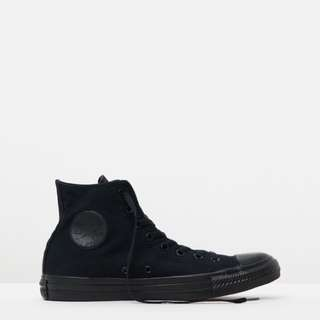 Chuck Taylor All-Stars | Converse all-black high tops