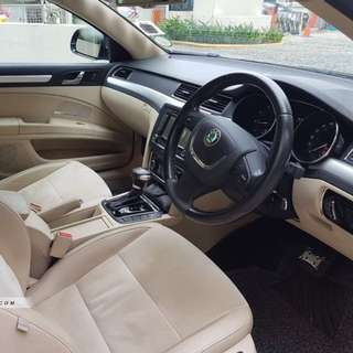 Skoda superb rent rental