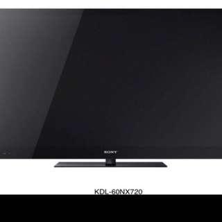 """Sony tv 60"""""""