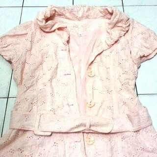 Light Pinkish Peach Color top