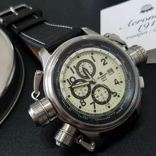 Aeromatic 德國飛機師腕錶 - A1424 (多功能)