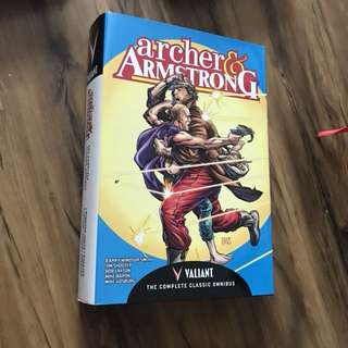 Valiant comics: Archer and Armstrong complete series omnibus