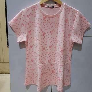 Peplum blouse detail.bisa barter