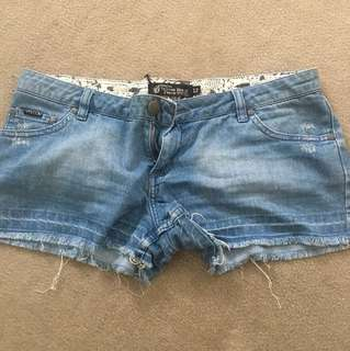 Volcom denim shorts