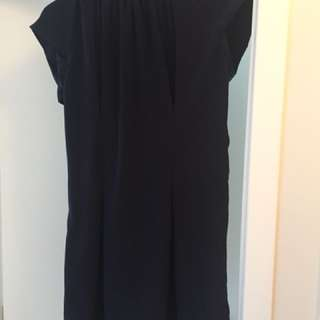 Max Navy Blue Dress