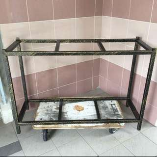"51""x18""x38"" Rock Iron Stand 30mm iron"