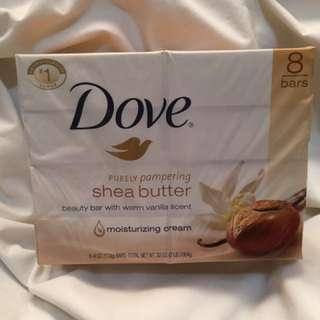 Sale Dove Shea Butter Soap (8 bars)