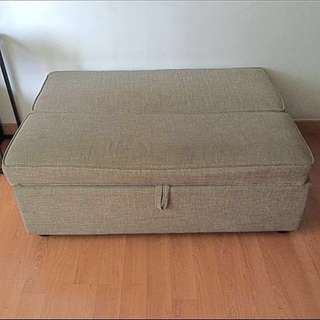 Pre Loved 2 seater Sofa Bed (Ottoman) FINAL PRICE