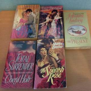 5 Mixes Historical Romance
