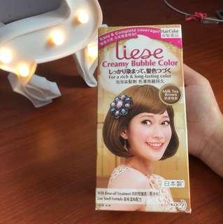 Liese Creamy Bubble Colour Milk Tea Brown